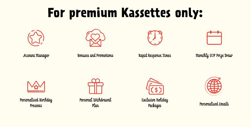 Kassu Casino VIP Benefits