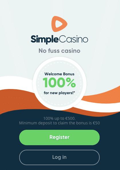 Simple Casino Deposit