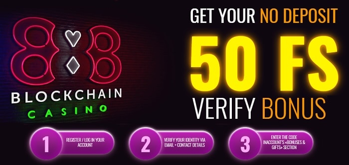 Get 50 free spins without deposit!