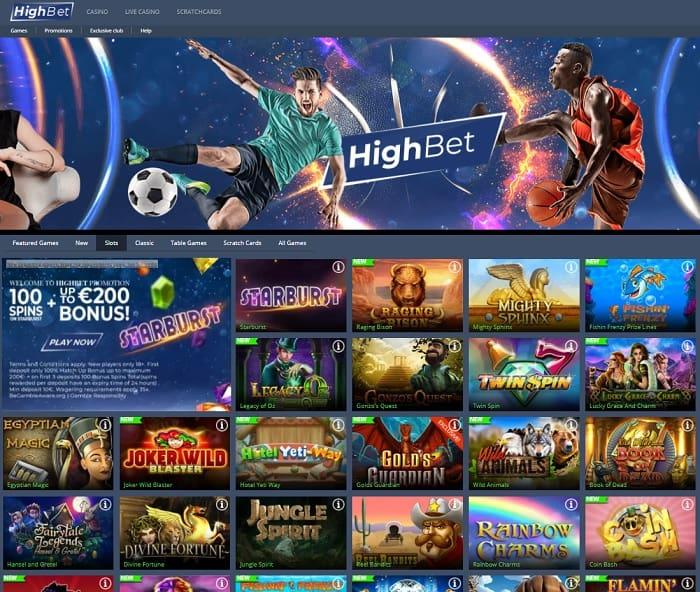 HighBet free bet
