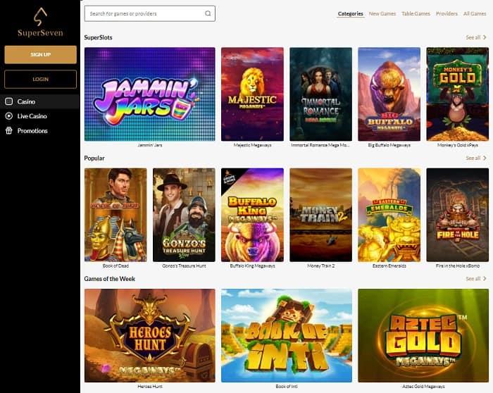 Super Seven Casino Review